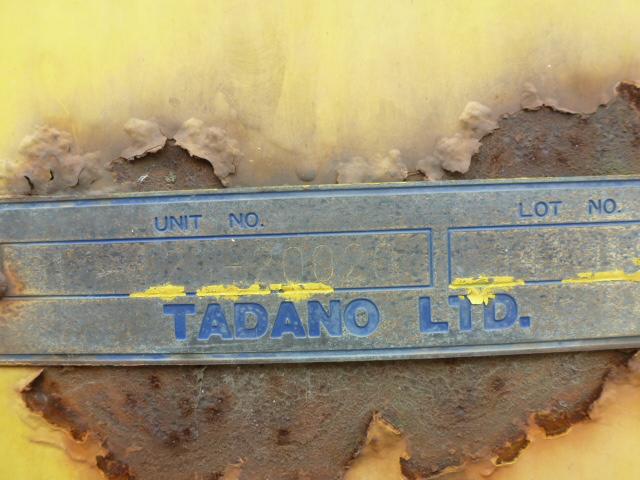 крановая установка TADANO TMZ303